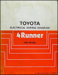 1989 toyota air conditioner installation manual original 1989 toyota 4runner wiring diagram manual original 109 00