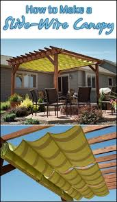 Have you got an area where you want shade in summer but lots of sun in  Diy  Backyard ProjectsPatio ...