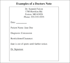 Self Certified Doctors Note Doctors Sick Note Template Fake Free Doctor Excuse Hospital Self