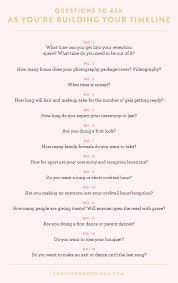 Wedding Timeline Magnificent Expert Advice Creating A Wedding Day Timeline Southern Weddings