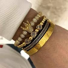 Luxury Royal <b>Crown</b> Charm Bracelet Men <b>Fashion 2019</b> Fahsion ...