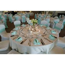 108 round poly cotton twill tablecloth