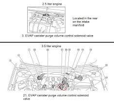 p0445 2009 nissan altima sedan evap canister purge volume control need more help