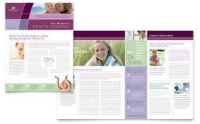 Newsletter In Word Womens Health Clinic Newsletter Template Design Office