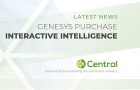 Genesys Purchasing Interactive Intelligence