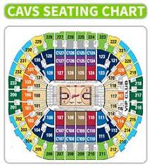 Quicken Loans Seating Chart 52 Qualified Quicken Arena Cleveland Seating Chart
