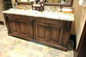 rustic bathroom double vanities.  Rustic Rustic Vanity Lighting Double Or Medium Size Of Bathroom  To Rustic Bathroom Double Vanities H