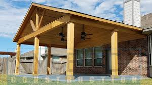 gable roof patio cover plans