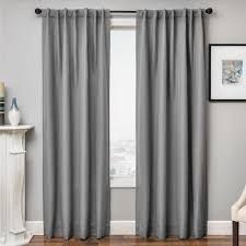 softline solara faux linen blackout curtain panel 54x96 linen beige size 54 x 96 polyester solid