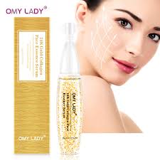 OMY LADY <b>24K Gold facial</b> serum skin care essence anti aging face ...