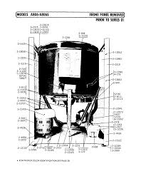 tag a806 timer stove clocks and appliance timers a806 washer front panel removed prior to series 01 parts diagram