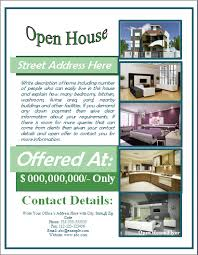 flyer word templates sample open house flyer template formal word templates