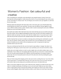 Womens Fashion Get Colourful And Creative By Gene Inoue Issuu