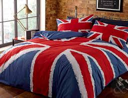 full size of bedroom modern blue union jack double duvet cover cotton and polyester material