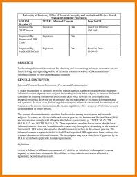 Free Sop 2424 STANDARD OPERATING PROCEDURE TEMPLATE FREE Covermemo 17