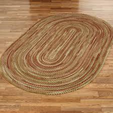 homecoming braided oval rug