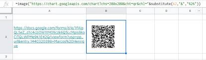 Image Function To Generate Qrcode To A Pre Filled Form