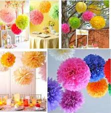Paper Flower Balls To Hang From Ceiling 25cm Colored Paper Flower Ball L Mix Color Marriage Room Celling Decoration Tissue Paper Poms Wedding Ceiling Hanging Diy Flower Ball Cheap Fall