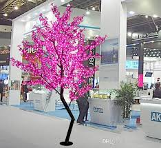2019 holiday light led cherry blossom tree light 1 5m 1 8m new year wedding decorative tree branches lamp outdoor lighting llfa from volvo dh2010