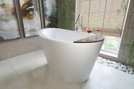 freestanding deep luxury bathtubs are one such example where large jetted bathtubs