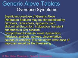 aleve arthritis dosage