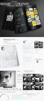 creative infographic resume templates creative resume template design pack