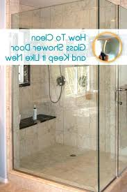 best way to clean glass shower doors with hard water stains concrete cleaner best glass shower