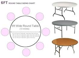 6 ft round table what size tablecloth for round table 6ft table needs what size tablecloth 6 ft round