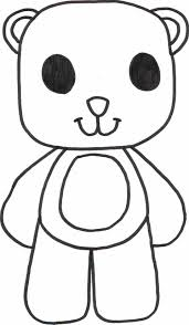 Small Picture 40 Best Teddy Bear Coloring Pages for Free Gianfredanet