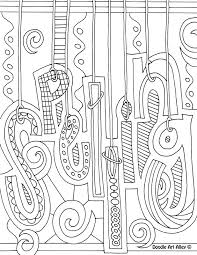 Coloring Page Binder Cover Subject Cover Pages Coloring Pages Classroom Doodles