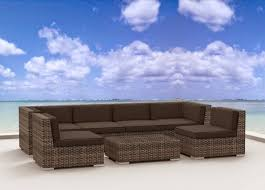 Urban Furnishing Modern Outdoor Backyard Wicker Rattan Patio Outdoor Patio Furniture Sectionals