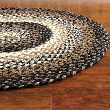 braided throw rugs braided area rug black tan cream oval rectangle primitive country stallion cotton braided braided throw rugs