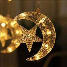 Fairy Lights Moon Amazon Com Emptystar Led String Lights Moon And Star