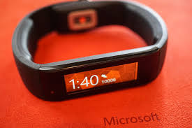 Microsoft Fitness Tracker Review Microsoft Band Smartwatch And Fitness Tracker