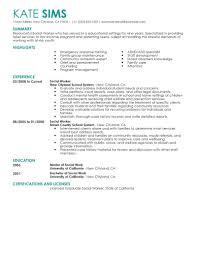 Caseworker Job Description For Resume Best of Social Worker Social Work Professional Resume Examples Social Work