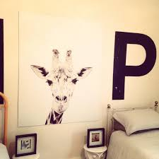 I Am In Love With My Magnetic Wallpaper Giraffe From Groovy Also European  Exterior Wall. «