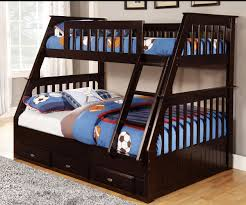 Espresso Twin over Full Bunk Bed