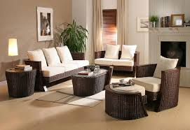 living room furniture decor. Blending Wood Furniture With Wicker Can Not Only Create Stunning Room Décor But Also Reduces Living Decor V