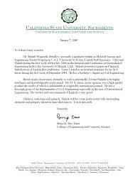 letter of recommendation for civil engineer letter of recommendation for ms in computer science from professor