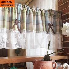Kitchen Curtain Material