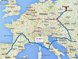 A Brilliant Route For 6 Months Around Europe