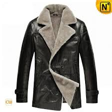shearling leather coat cw878418 jackets cwmalls com