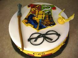 Birthday Cakes Harry Potter Wedding Academy Creative Easy Harry