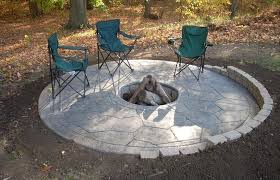 concrete patio designs with fire pit. Beautiful Diy Fire Pit On Concrete Patio Cool Designs Along With Design Decorating R