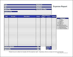 Free Travel Expense Report Template Employee Travel Expense Report Template Monthly Expenses Report