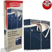 details about portable closet garment storage organizer wardrobe clothes rack hanger heavy dut
