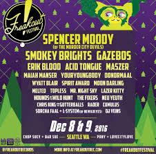 Seattle Design Festival 2016 Freakout Festival 2016 Announced Freakout Records