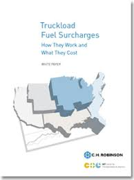National Fuel Surcharge Chart 2019 Truckload Fuel Surcharges How They Work What They Cost