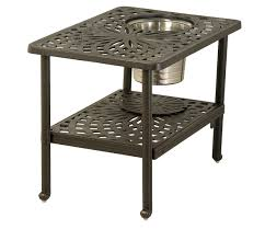 Ice Bucket Table Hanamint Mayfair 22x32 Ice Bucket Table All Things Barbecue