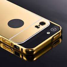 iphone 5s gold. aliexpress.com : buy beworlder for apple iphone 5s 5 iphone5s gold color matel frame mirror back plate luxury case new brand phone bag cover from reliable iphone 5s